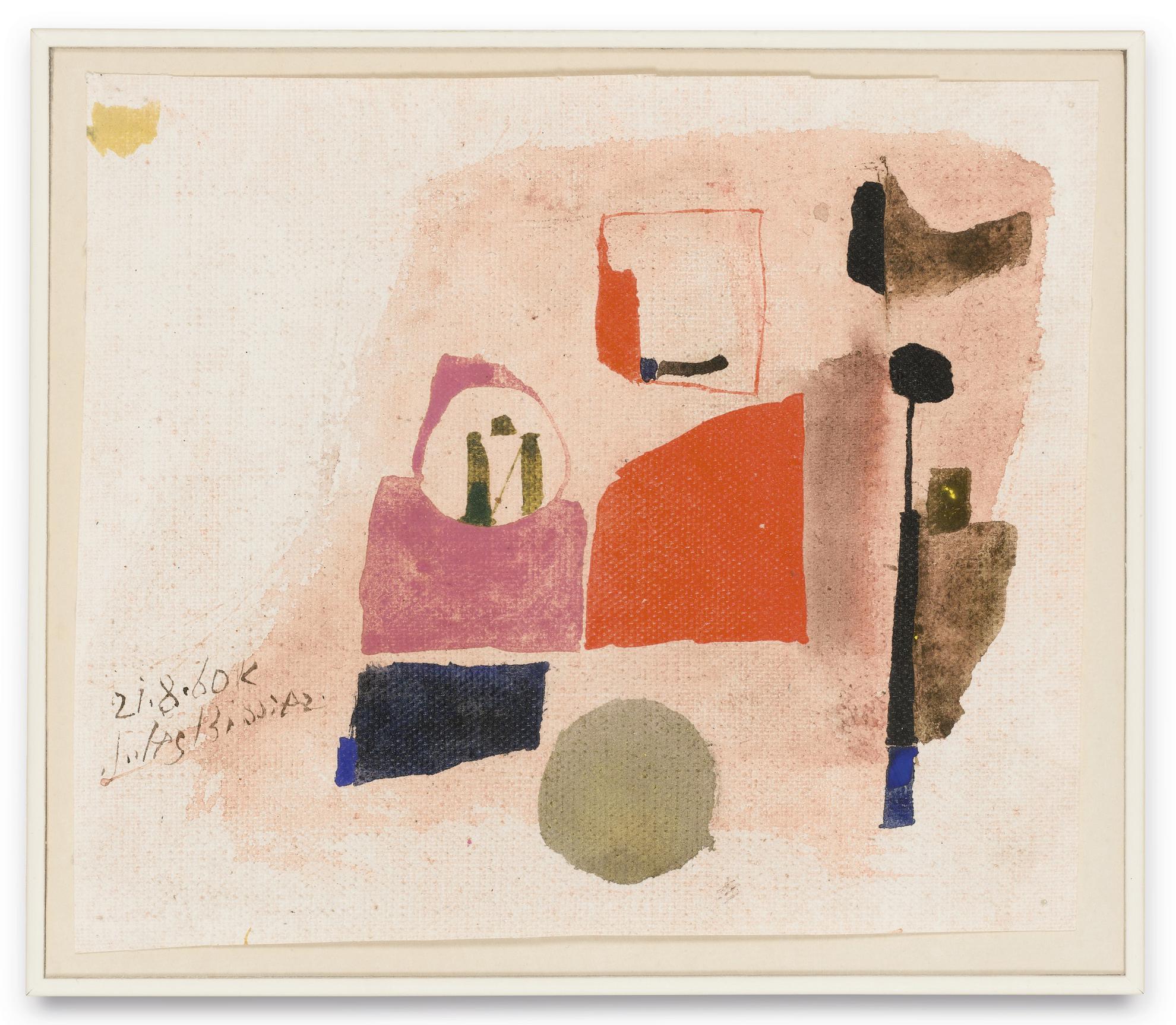 Julius Bissier-21.8.60.K-1960