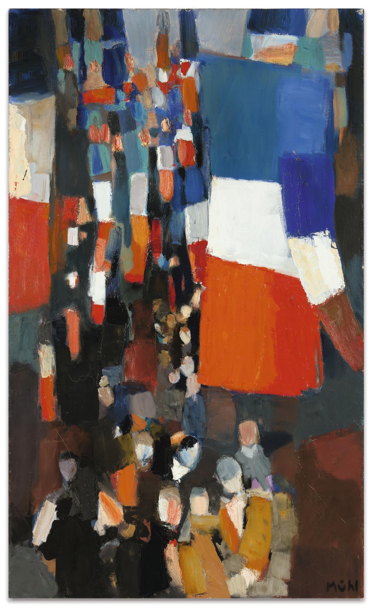 Roger Muhl-14 Juillet En Alsace-1961
