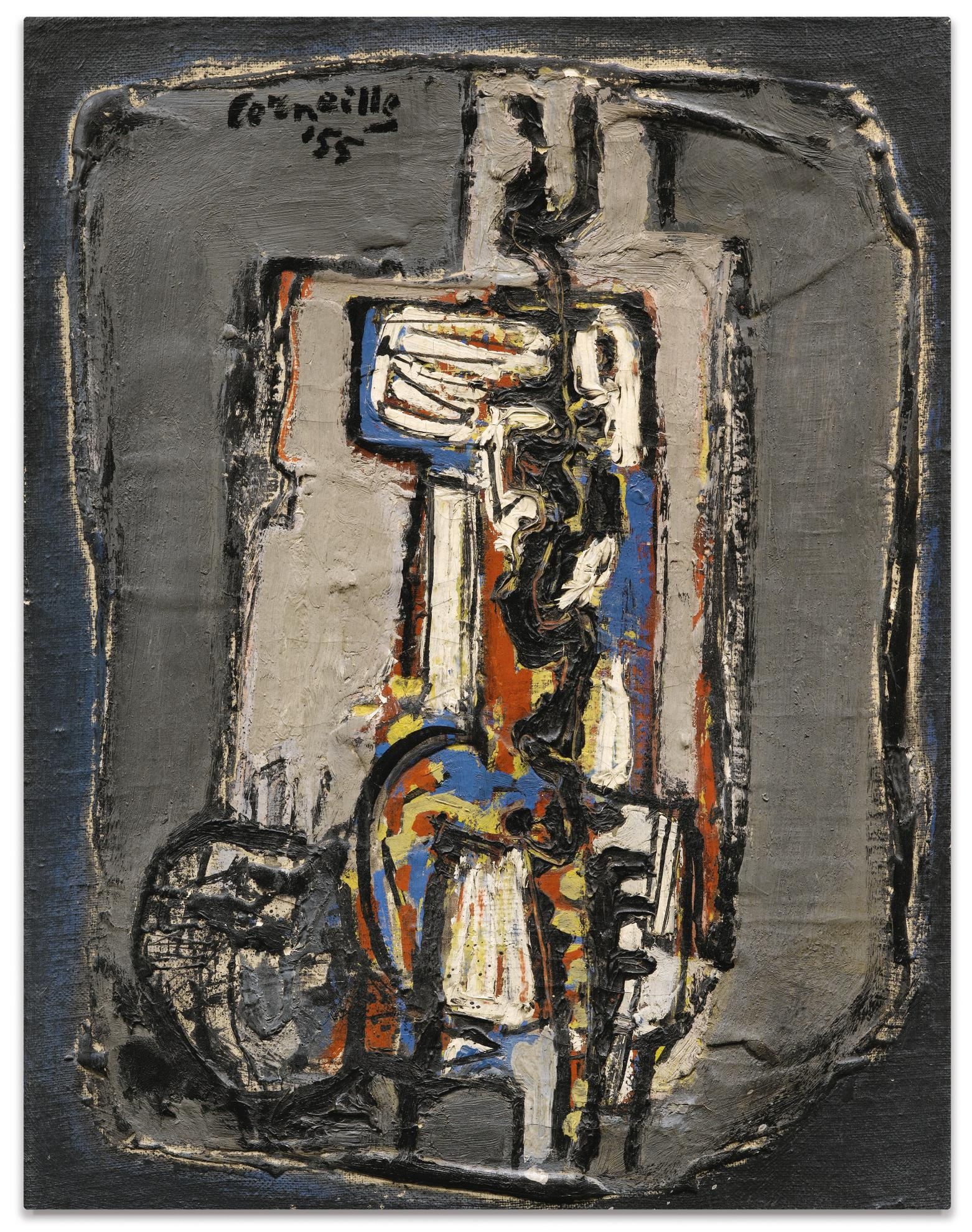 Corneille-Figure And Cat-1955