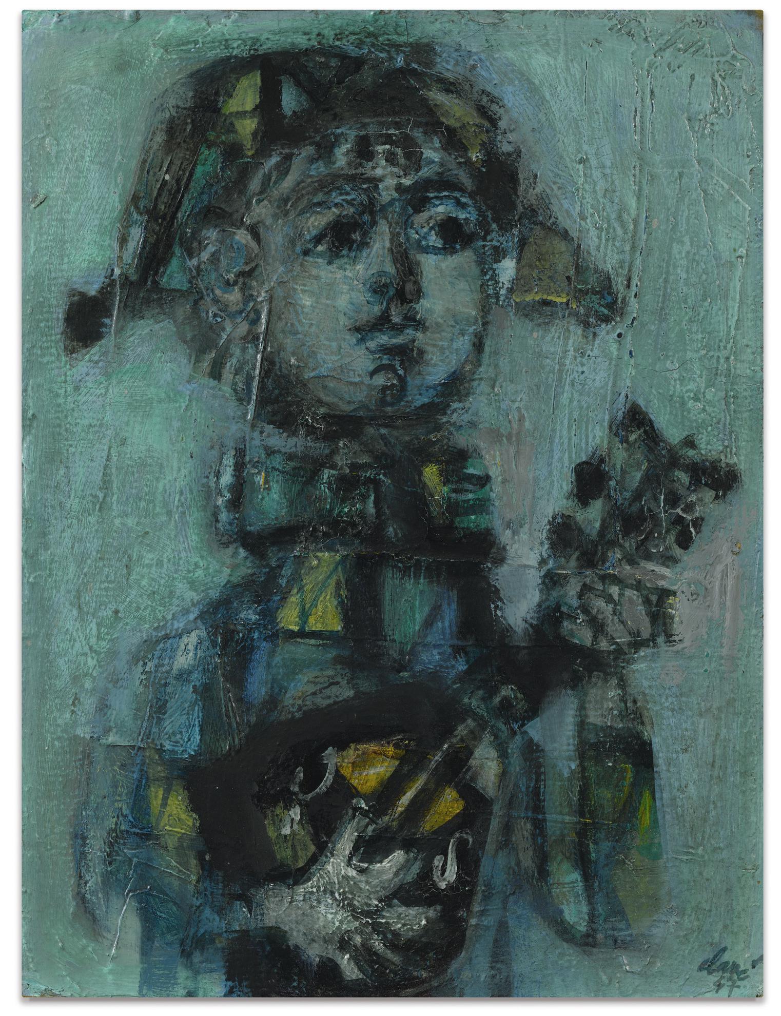 Antoni Clave-Arlequin-1947