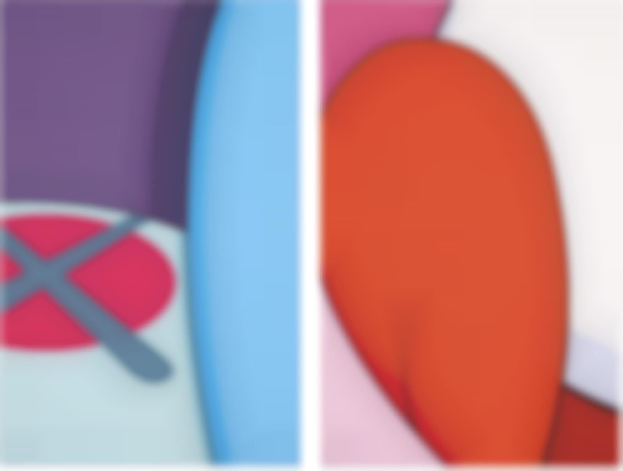 KAWS-No Reply (Two Works)-