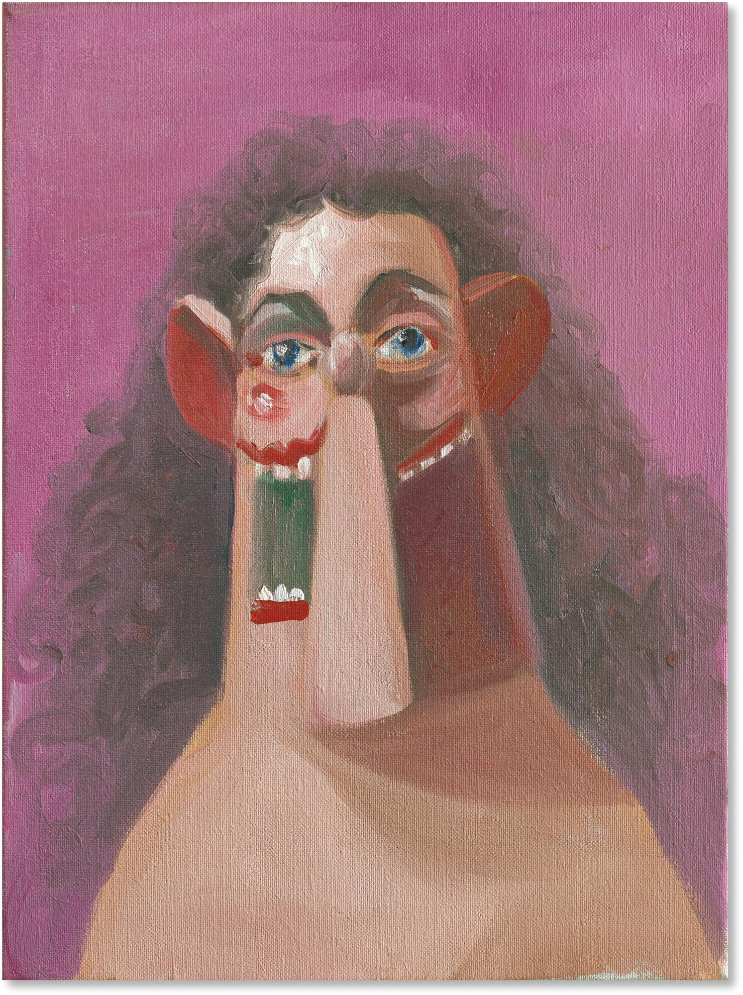 George Condo-Young Girl-2007