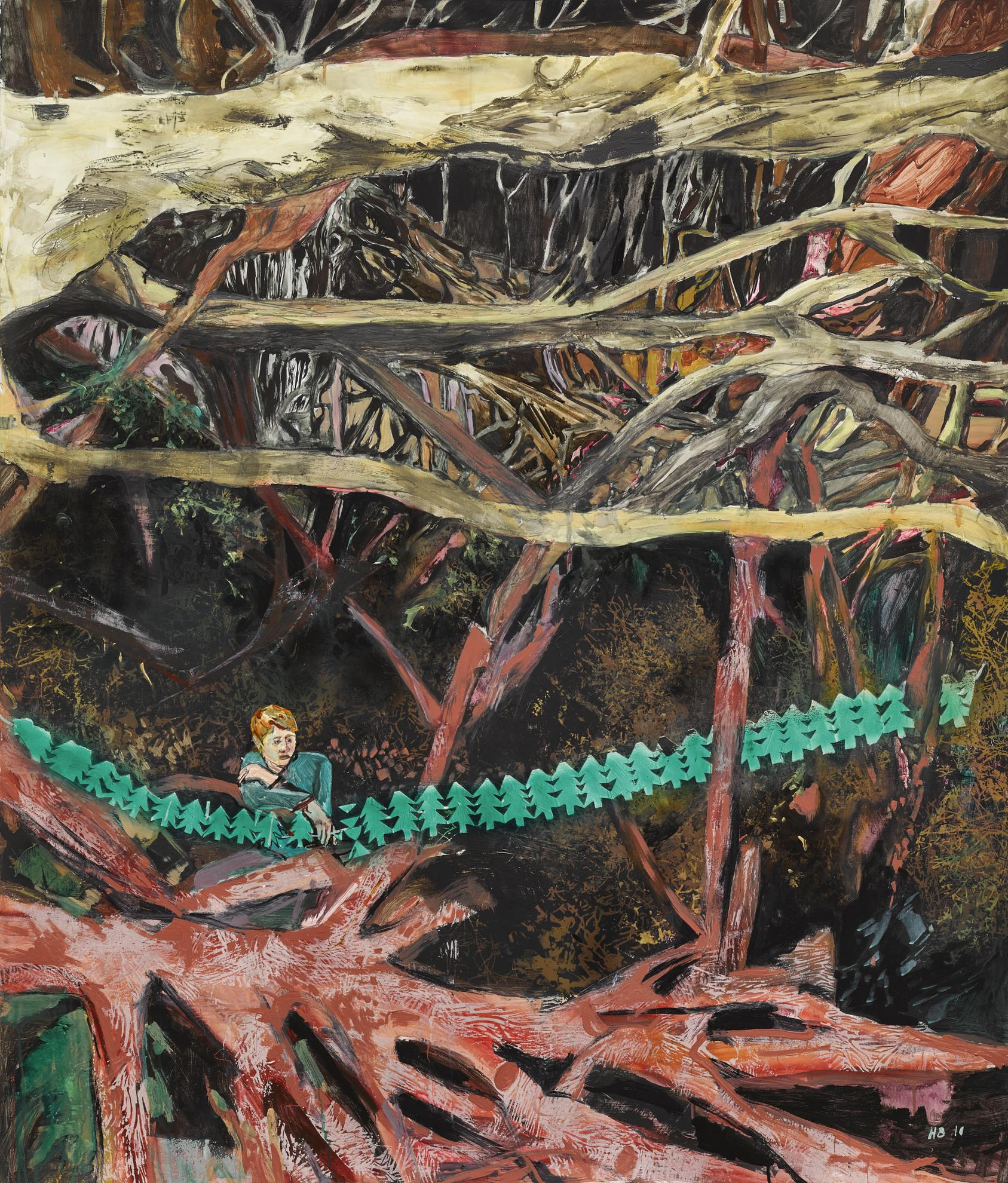 Hernan Bas-The Forest Through The Forests-2010
