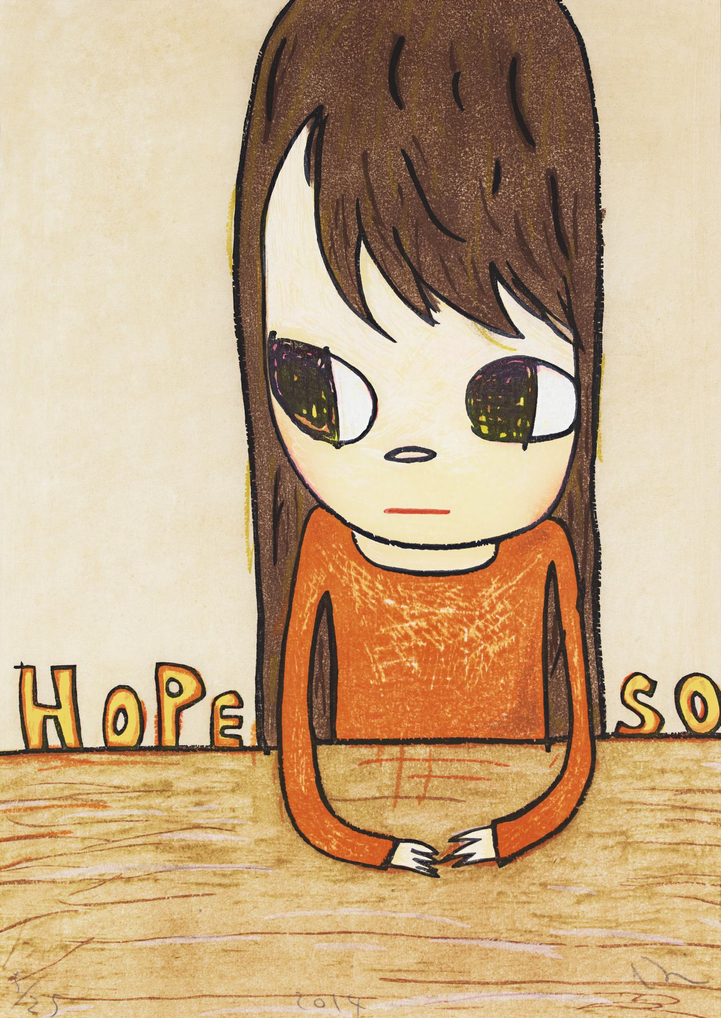 Yoshitomo Nara-Hope So-2014