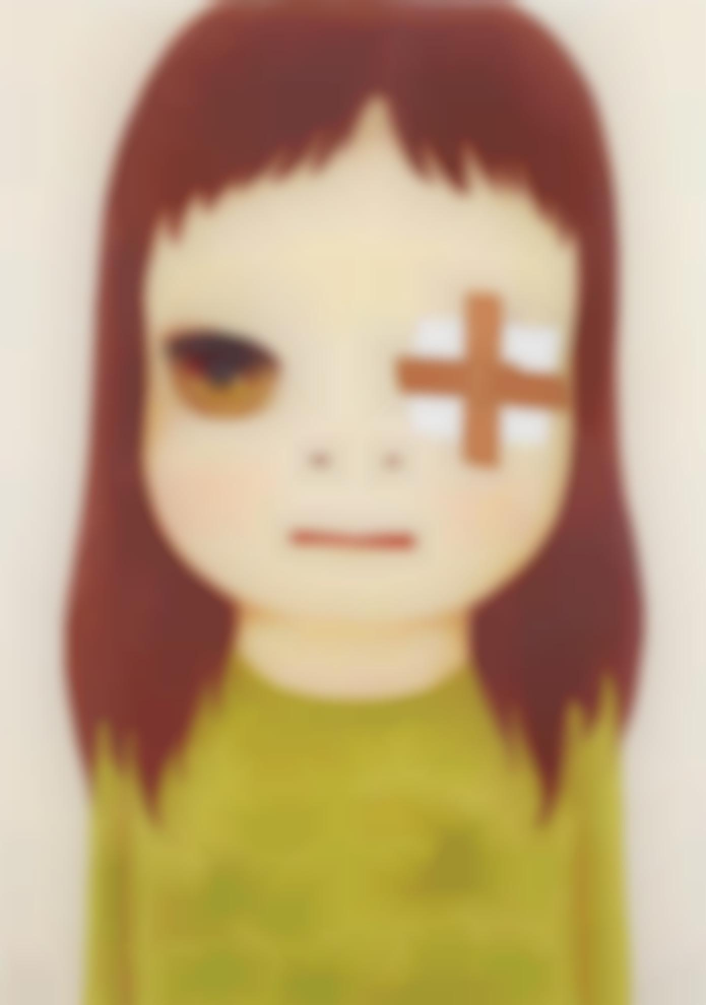 Yoshitomo Nara-Untitled (Eye Patch)-2012