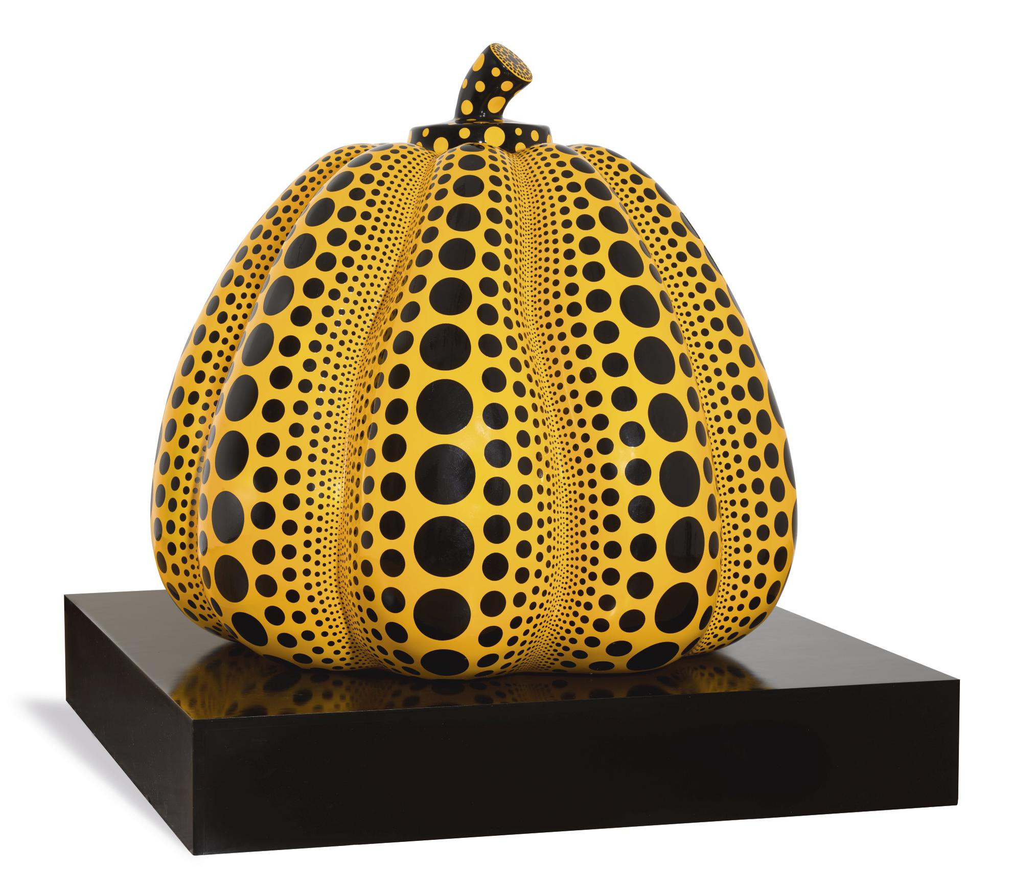 Yayoi Kusama-Untitled (Pumpkin Sculpture)-2007