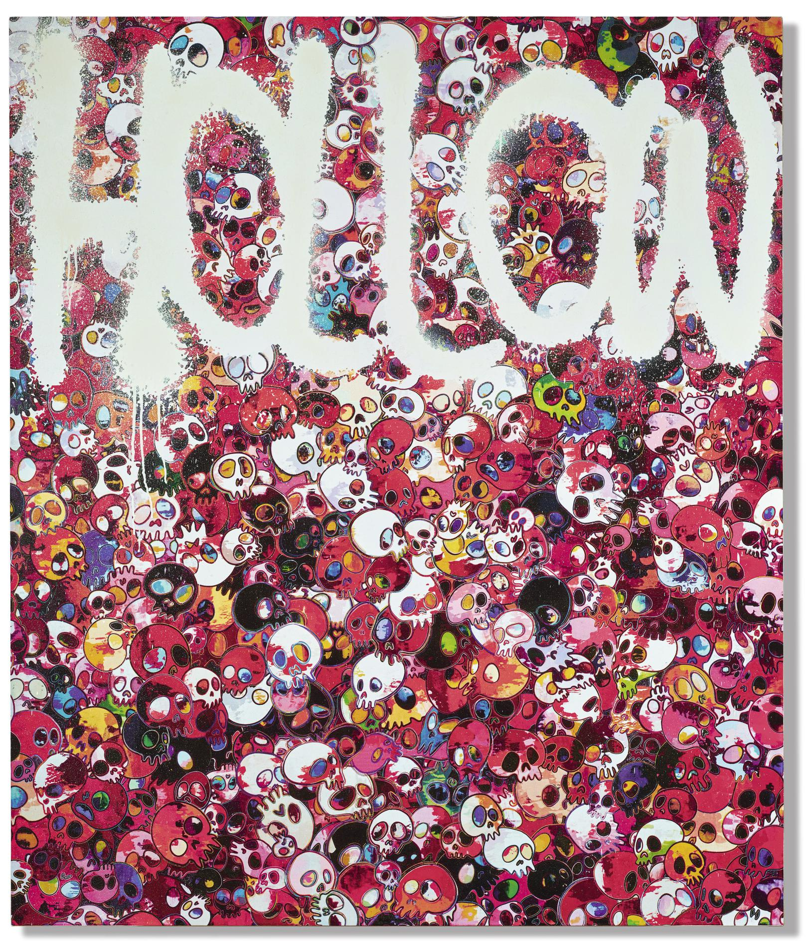 Takashi Murakami-Hollow-2014