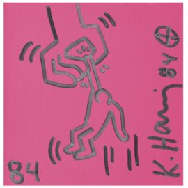 Keith Haring-Untitled (Hanging Man)-1984