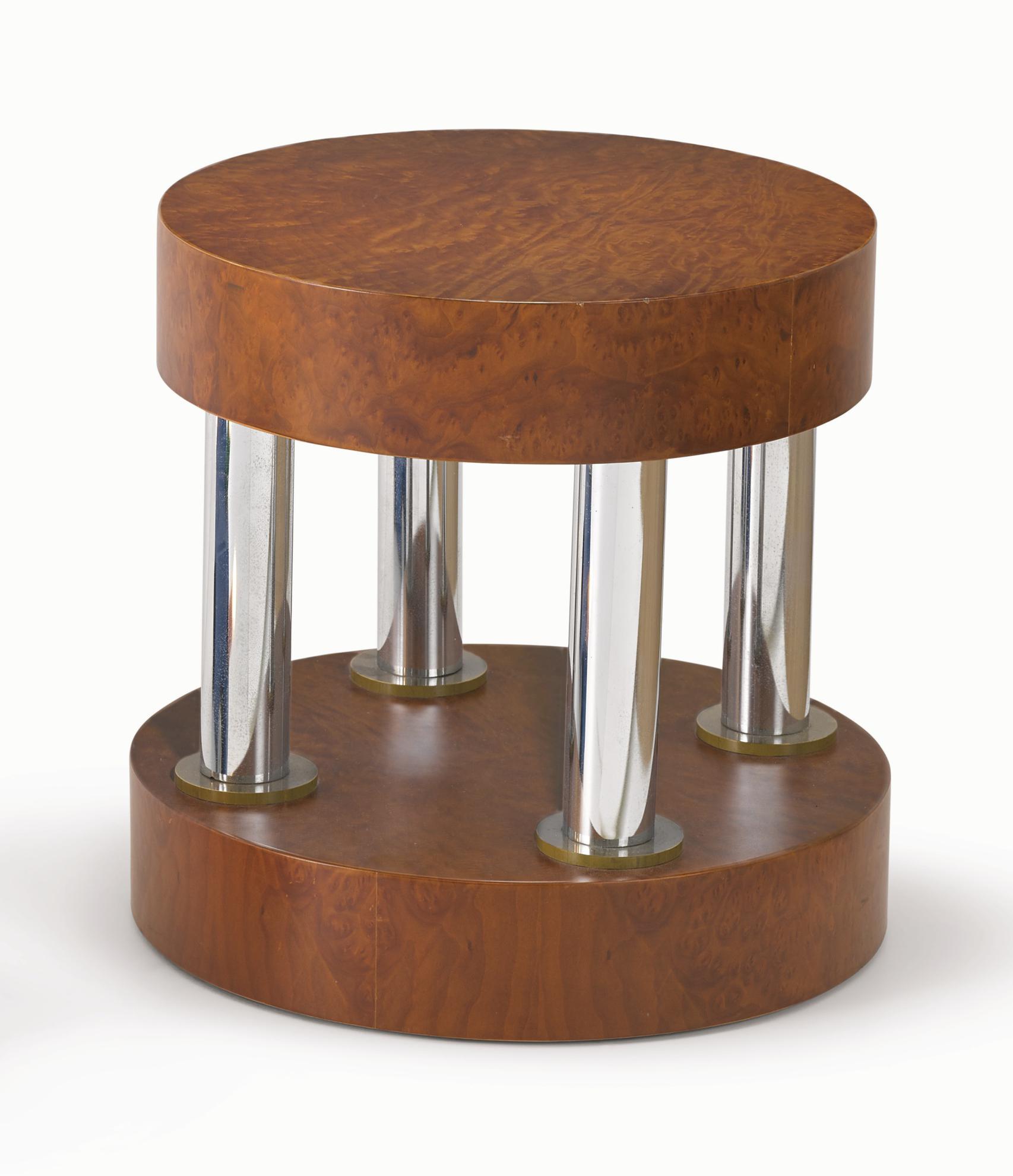 Ettore Sottsass-Hyatt Side Table-1984