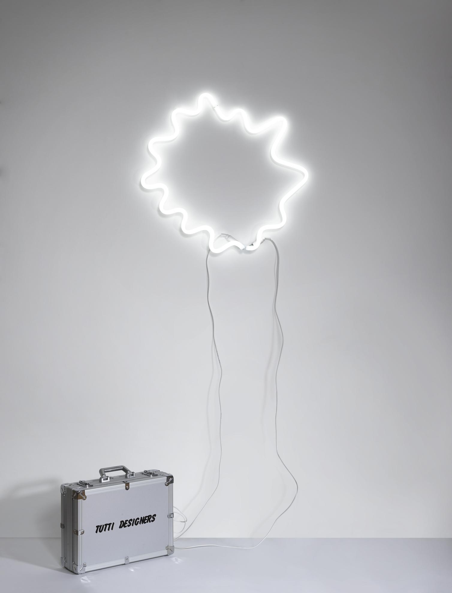 Michelangelo Pistoletto-Tutti Designers, A Neon And Aluminium Lamp-1989