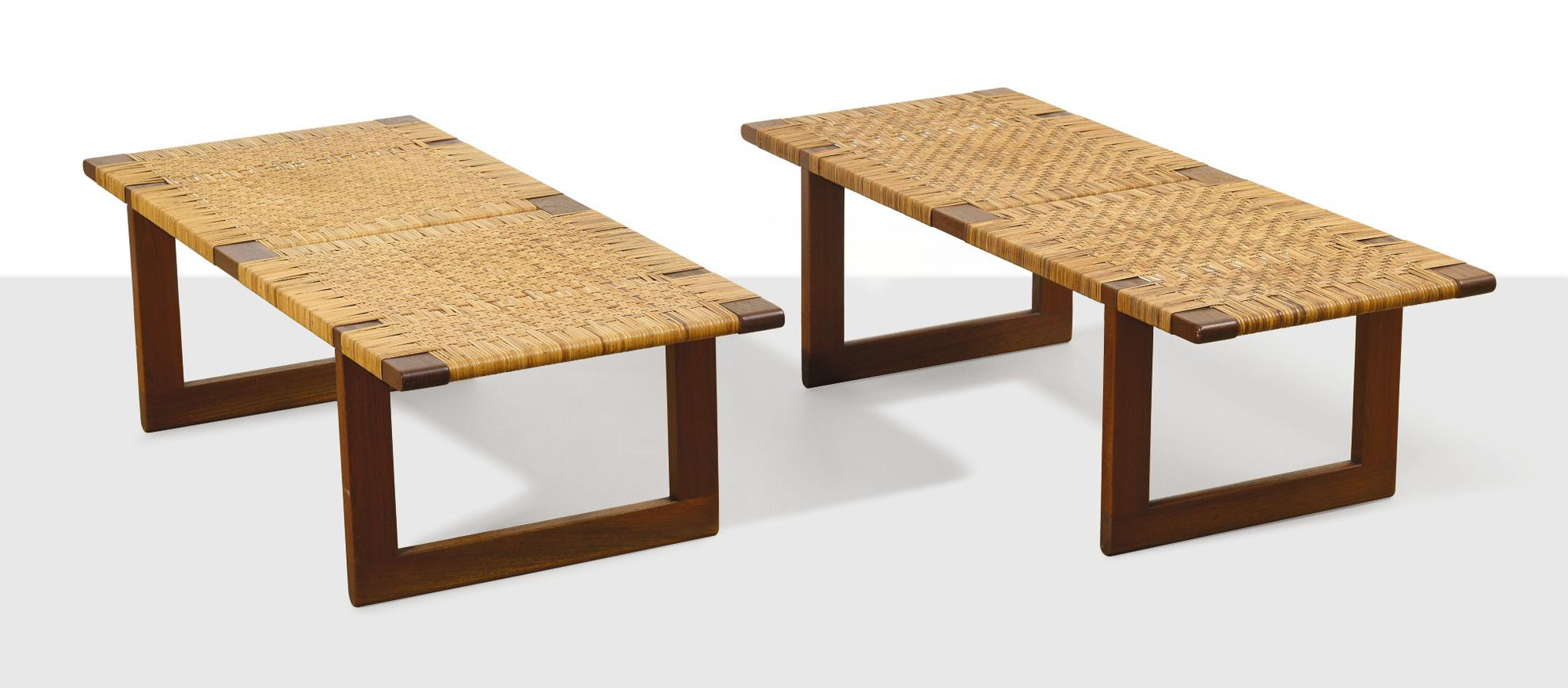 Borge Mogensen - Large And Small Bench (Two Works)-1969