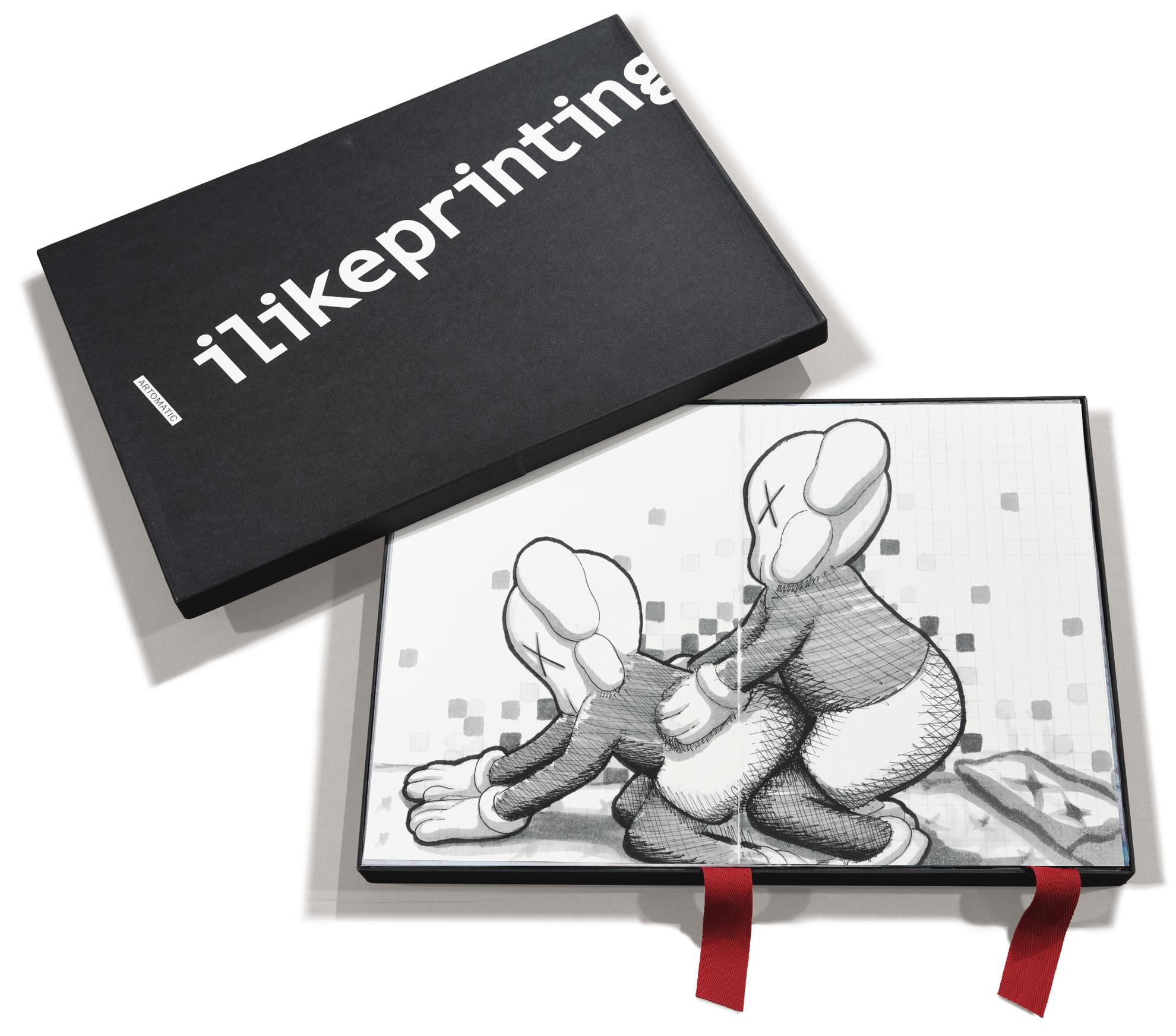 Kaws And Various Artists - I Like Printing (A Set Of Thirty Prints)-2002