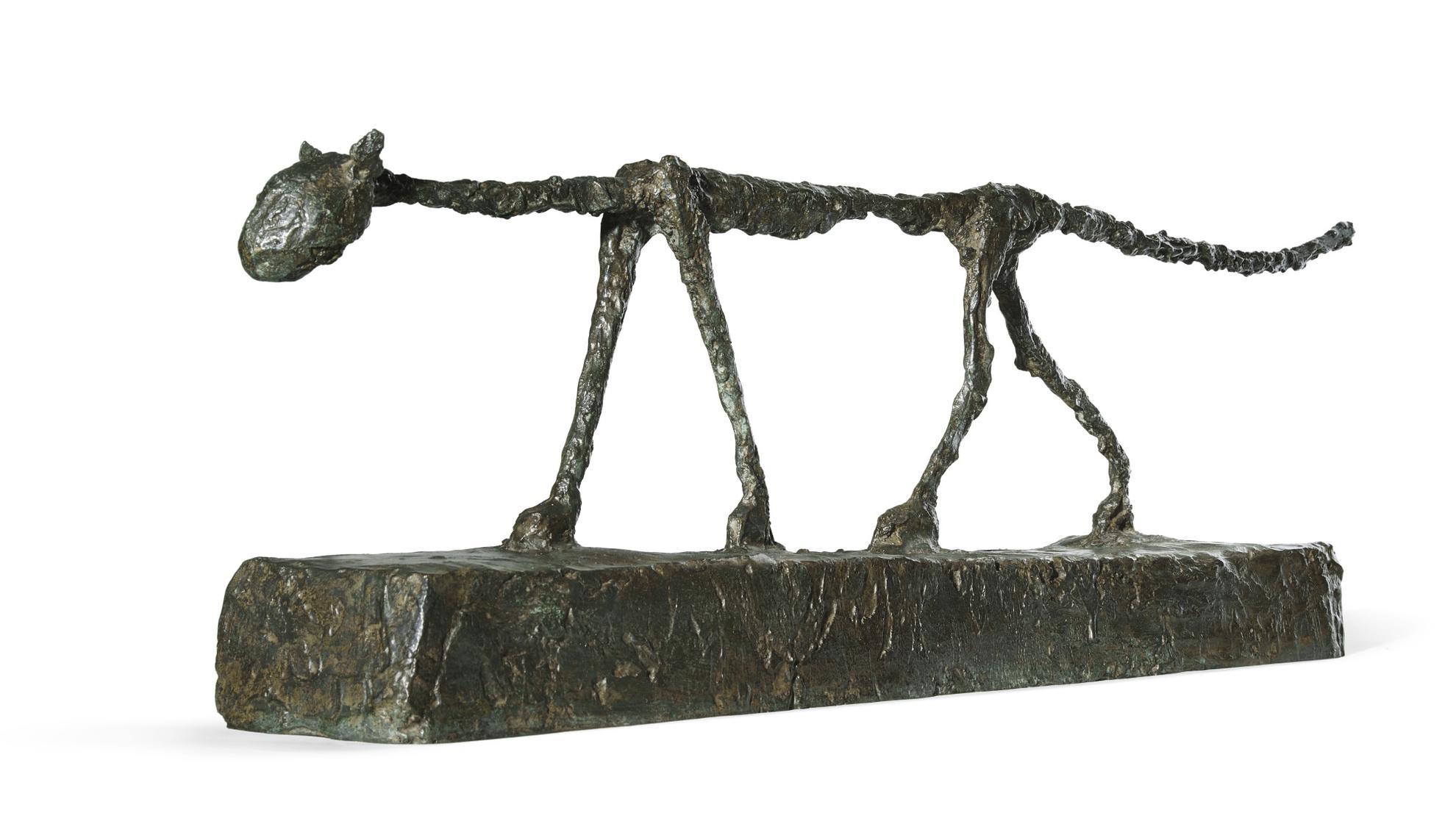 Alberto Giacometti-Le Chat-1955