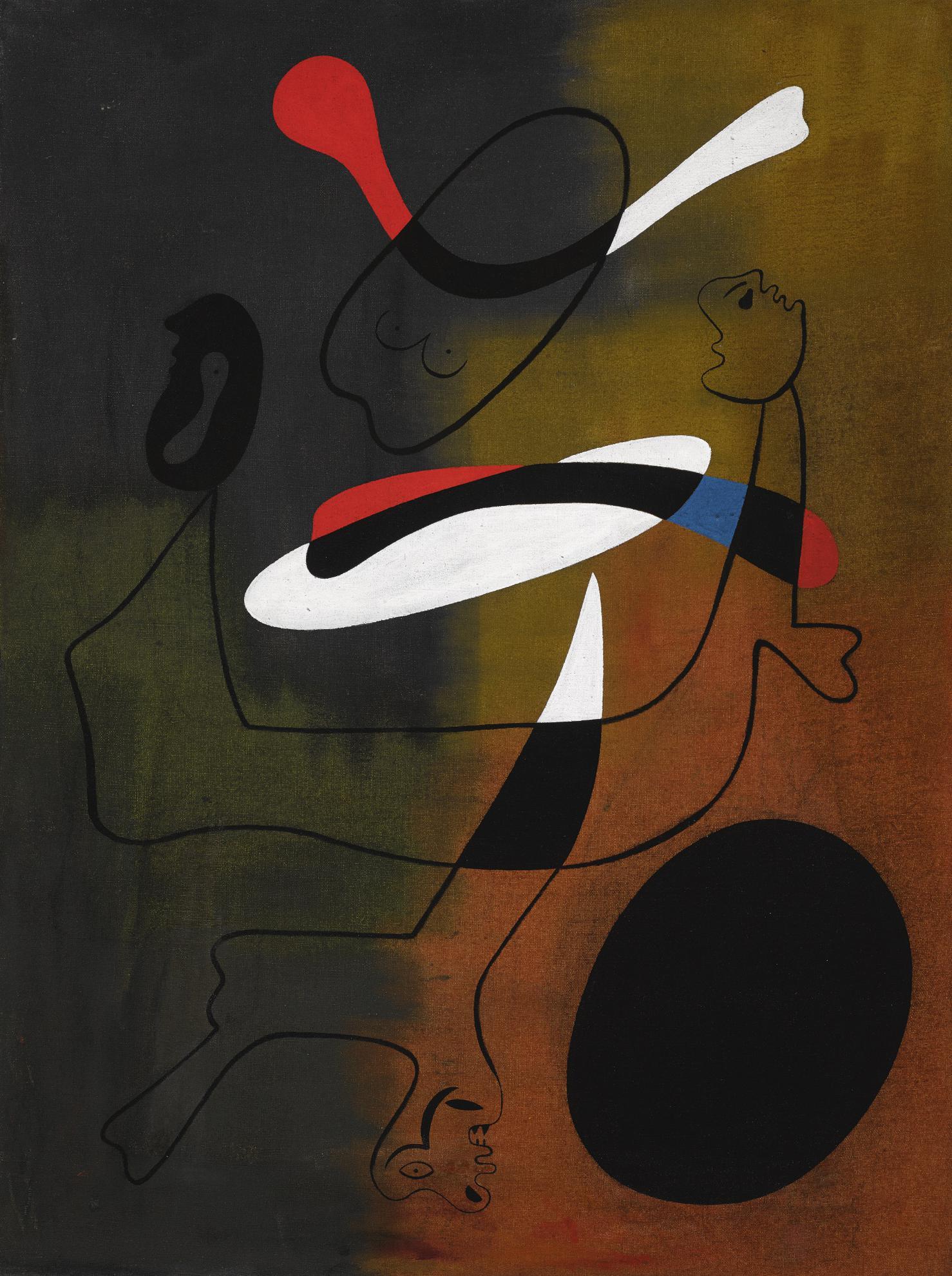 Joan Miro-Peinture-1933