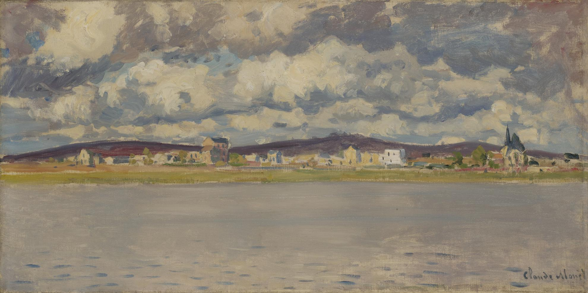 Claude Monet-Vue Dargenteuil-1872