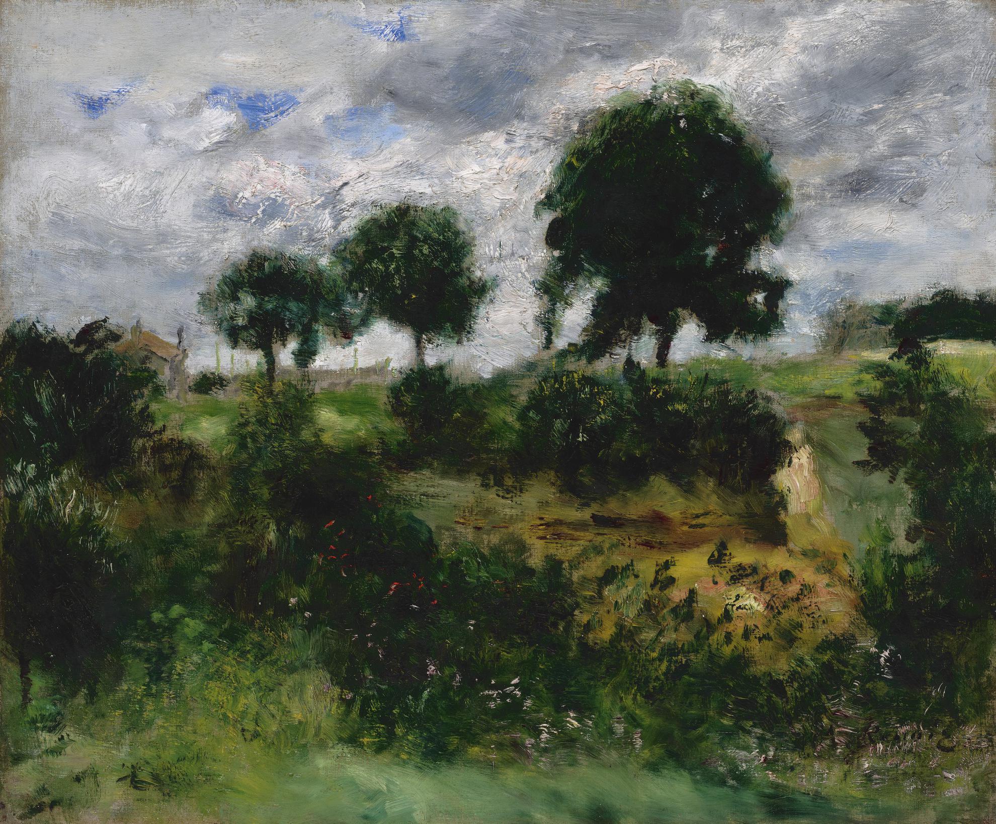 Pierre-Auguste Renoir-Apres La Tempete (Temps Dorage)-1872