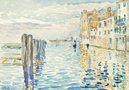 Henri-Edmond Cross-Venise, Lile De Torcello-1903