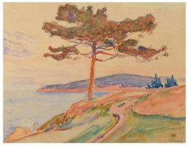 Theo van Rysselberghe-Baie De Saint-Tropez-1896