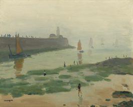 Albert Marquet-Sortie Du Port De La Chaume, Les Sables Dolonne-1933