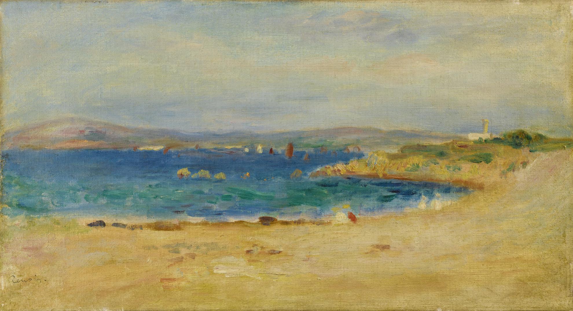 Pierre-Auguste Renoir-Les Bords De La Mediterranee-1891