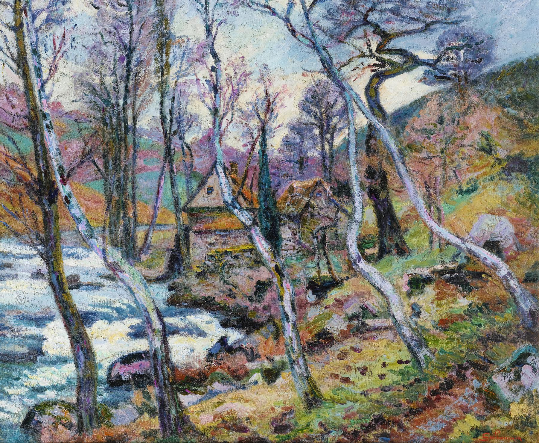 Jean-Baptiste Armand Guillaumin-Le Moulin Bouchardon, Creuse-1905