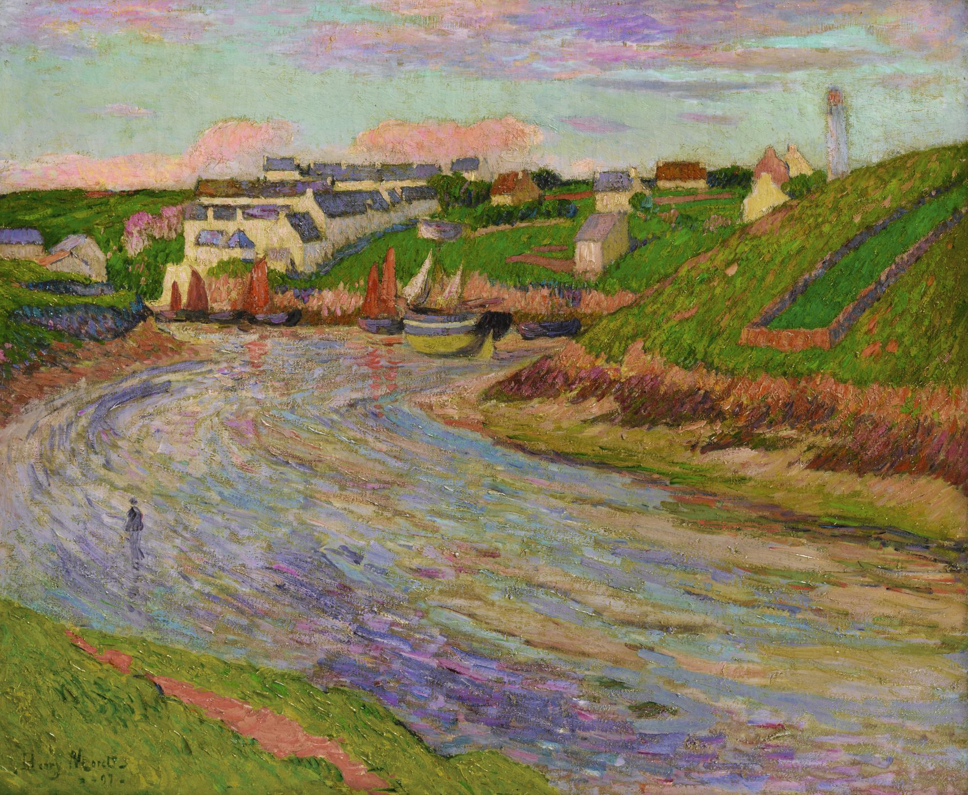 Henry Moret-Basse Mer, Le Soir-1897