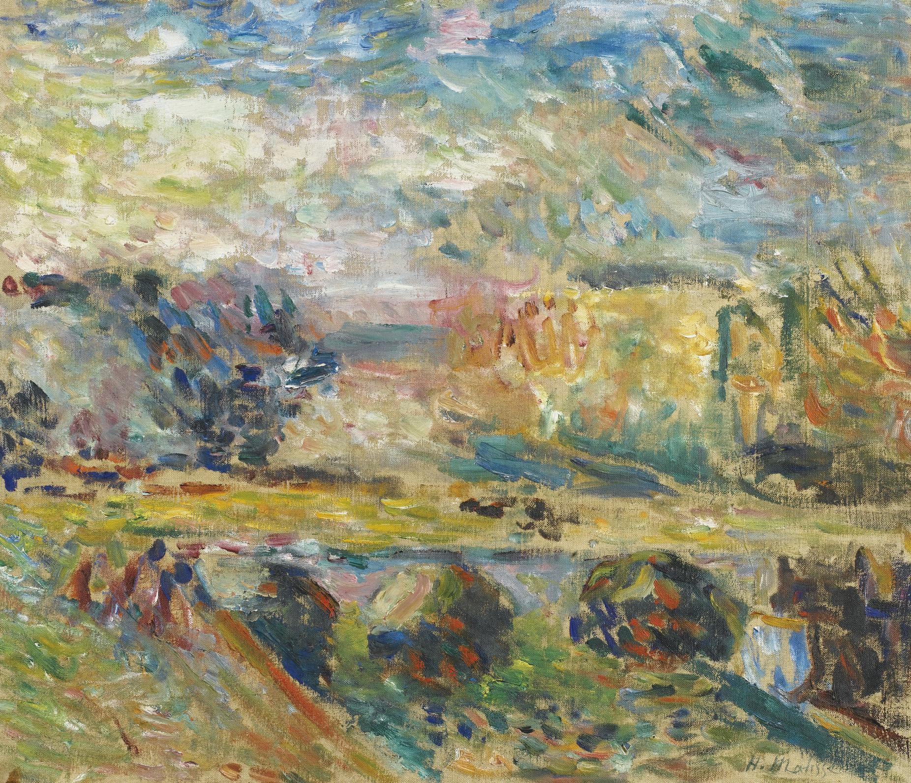 Henri Matisse-Le Pont-1901