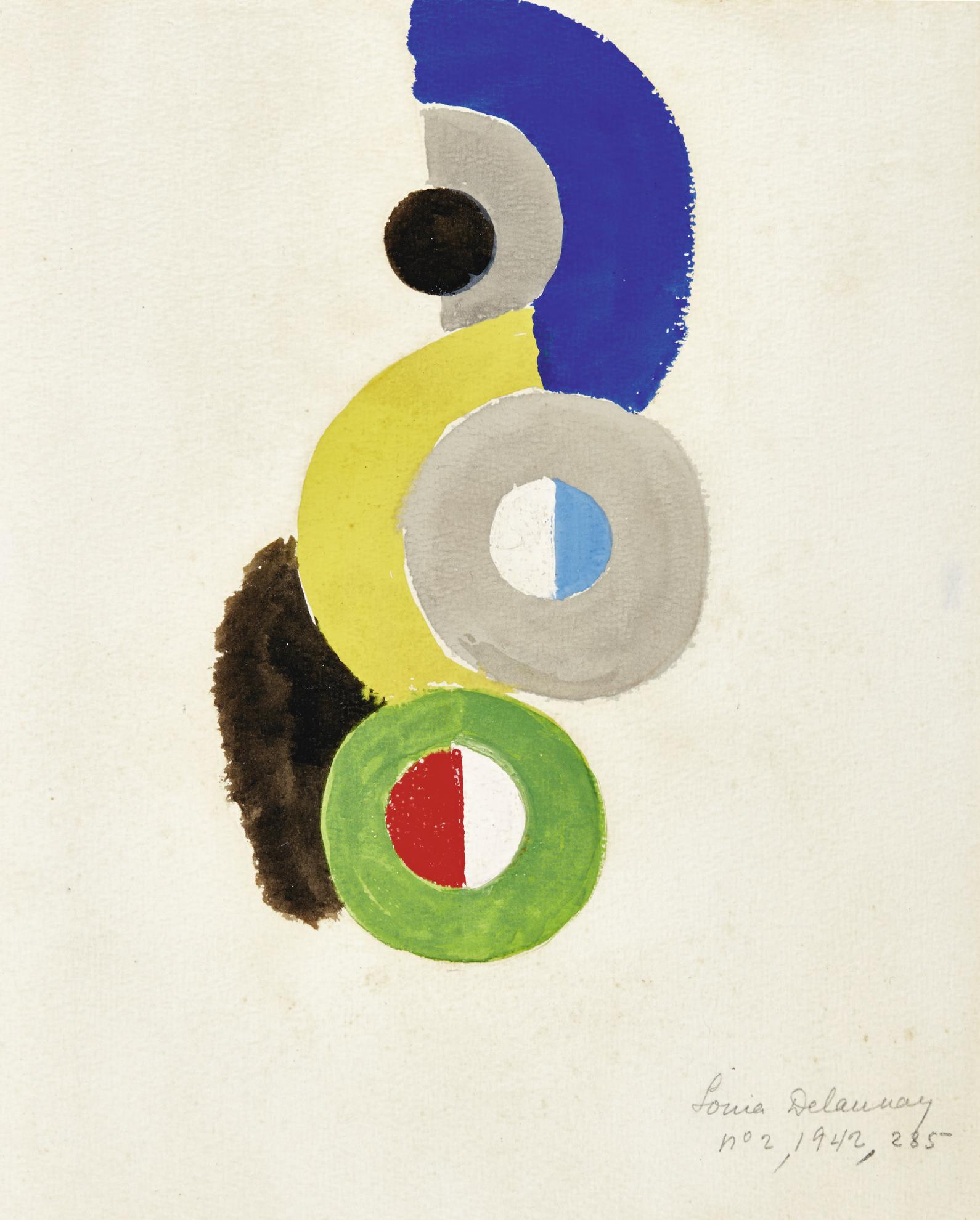 Sonia Delaunay-Sans Titre-1942