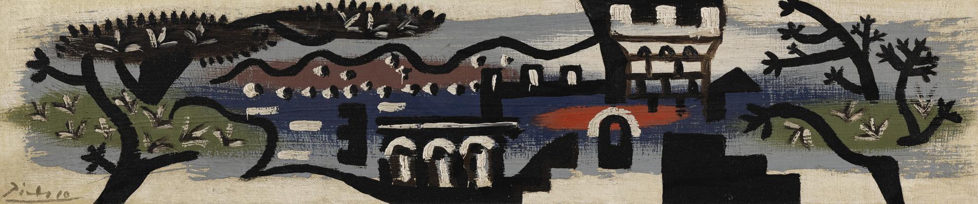 Pablo Picasso-Paysage De Juan-Les-Pins-1925