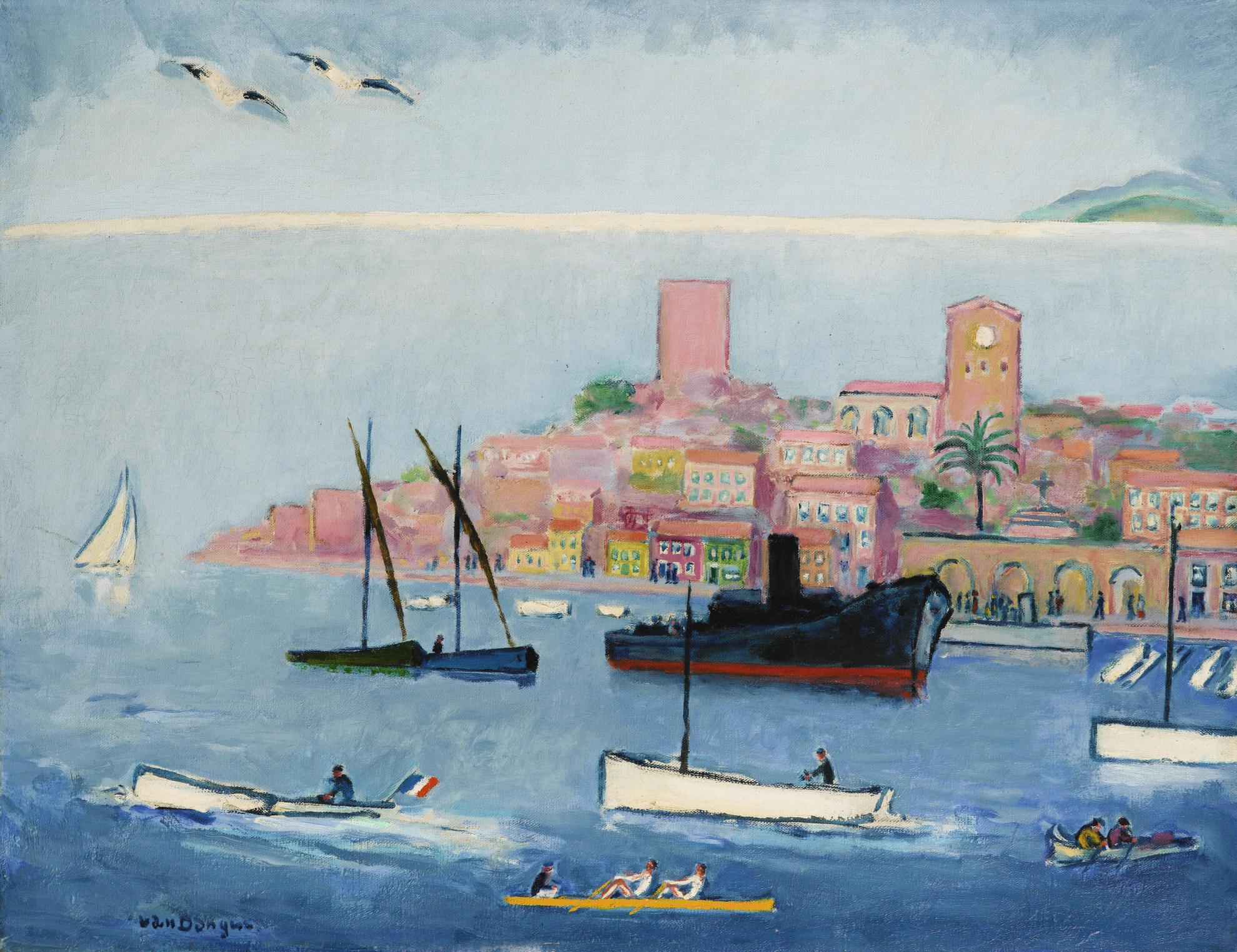 Kees van Dongen-Vue De Cannes, Le Suquet-1930