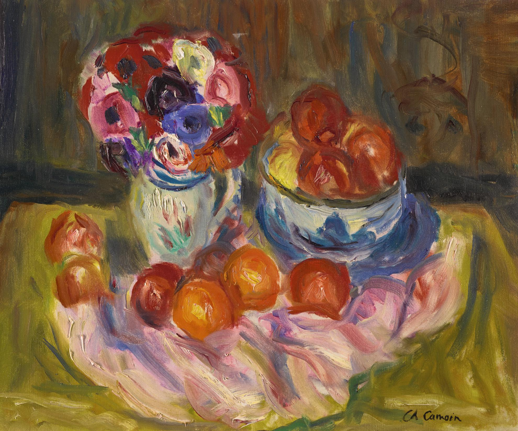 Charles Camoin-Nature Morte Aux Fleurs-
