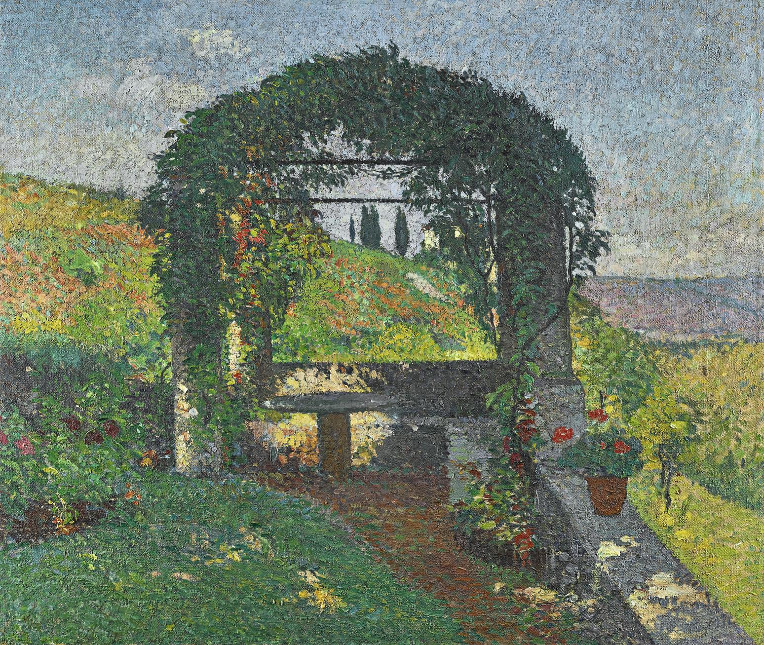 Henri Martin-La Pergola (Gloriette)-1920