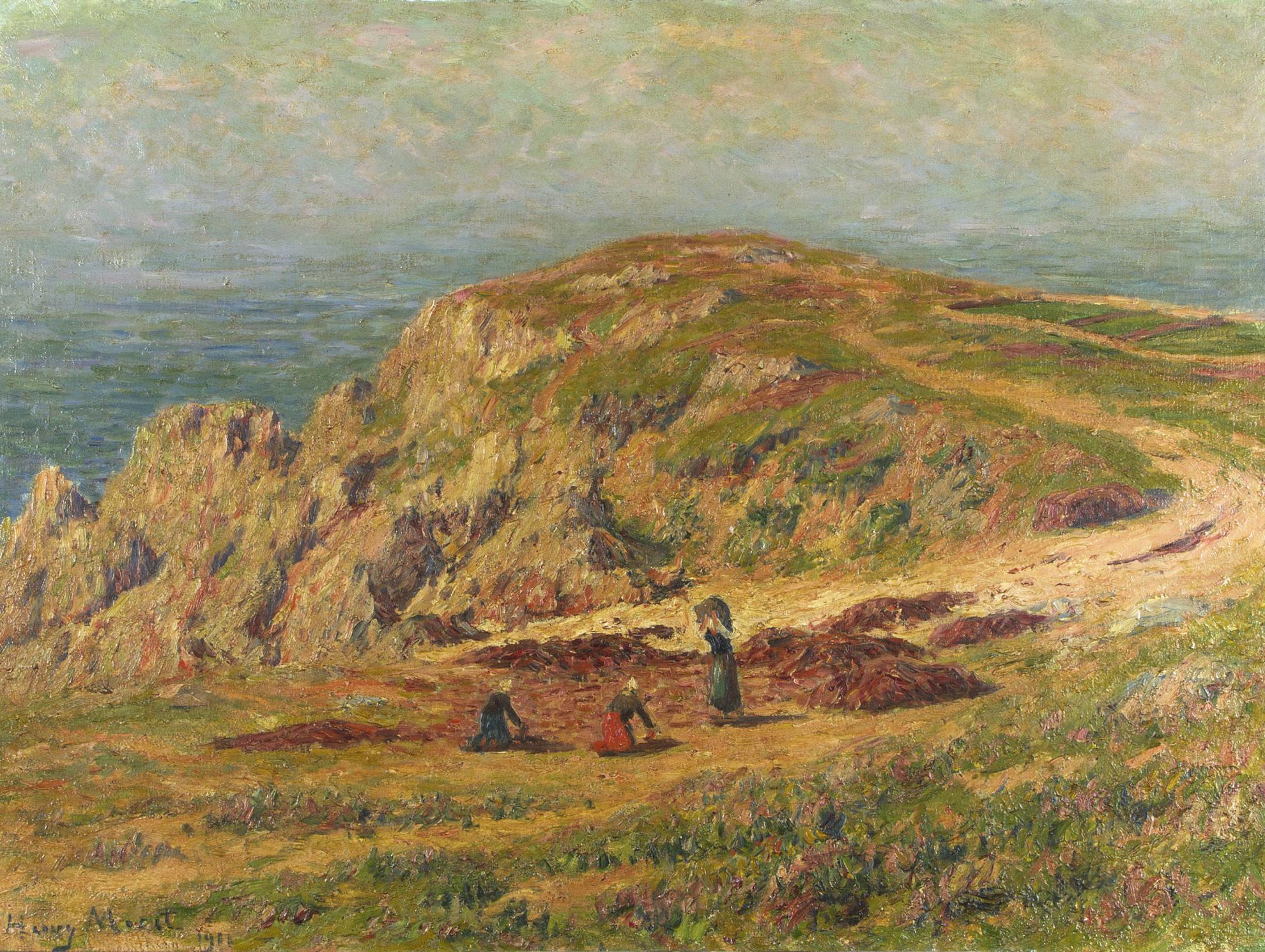 Henry Moret-La Cote Dequibien, Finistere-1911