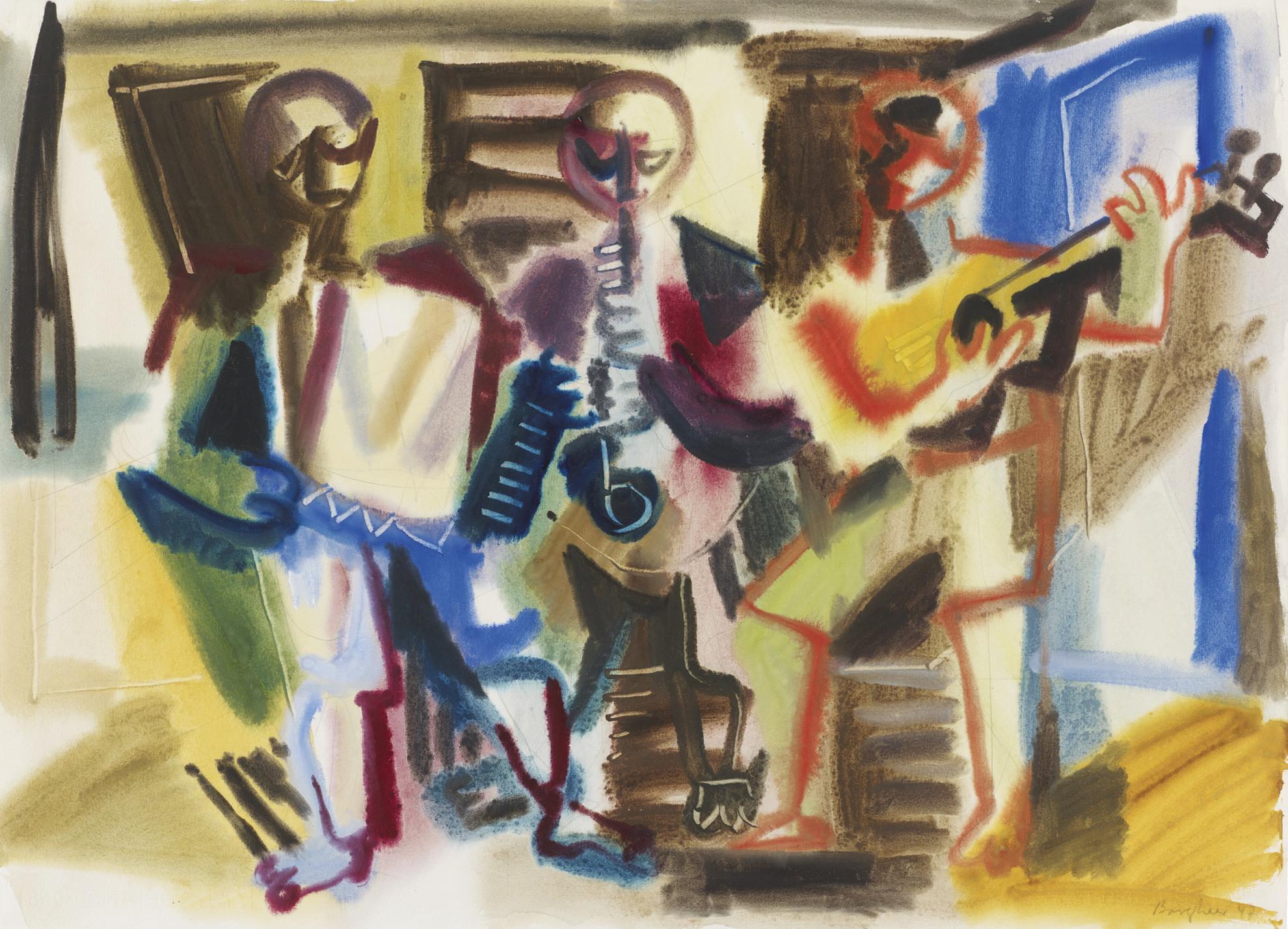 Eduard Bargheer - Serenade-1947