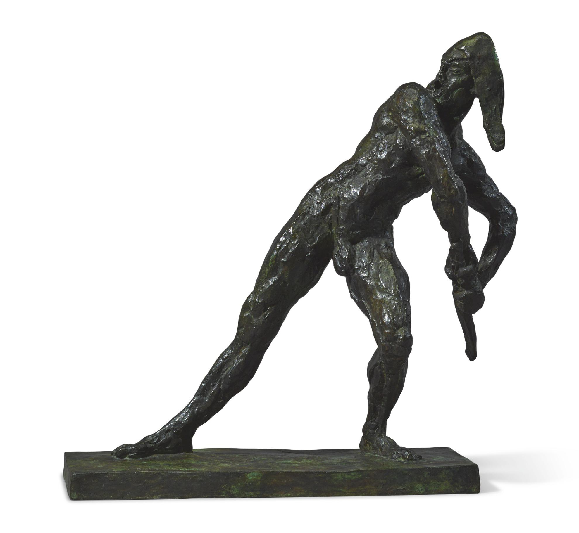 Emile Antoine Bourdelle - Larlequin-1905