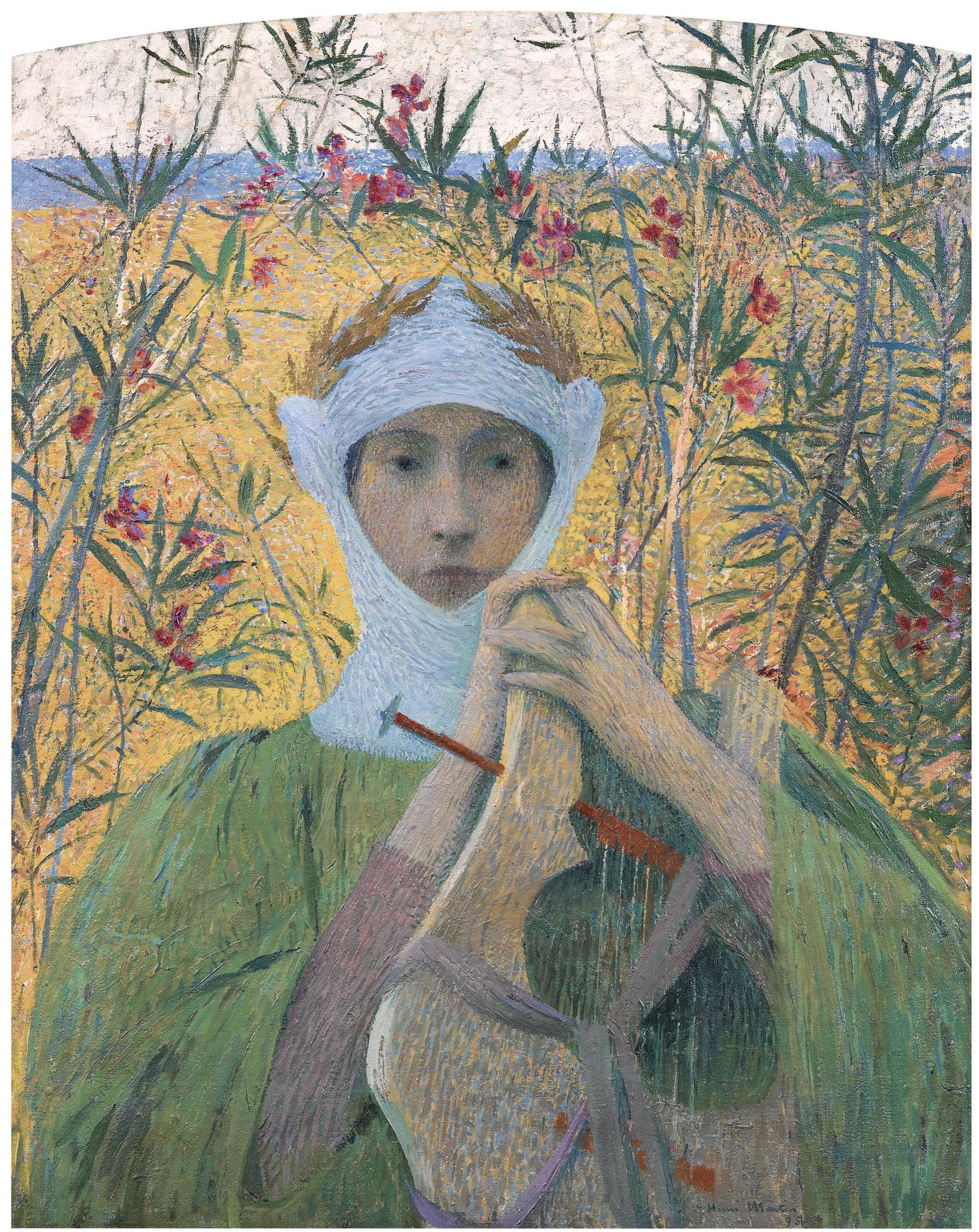 Henri Martin-Clemence Isaure-1895