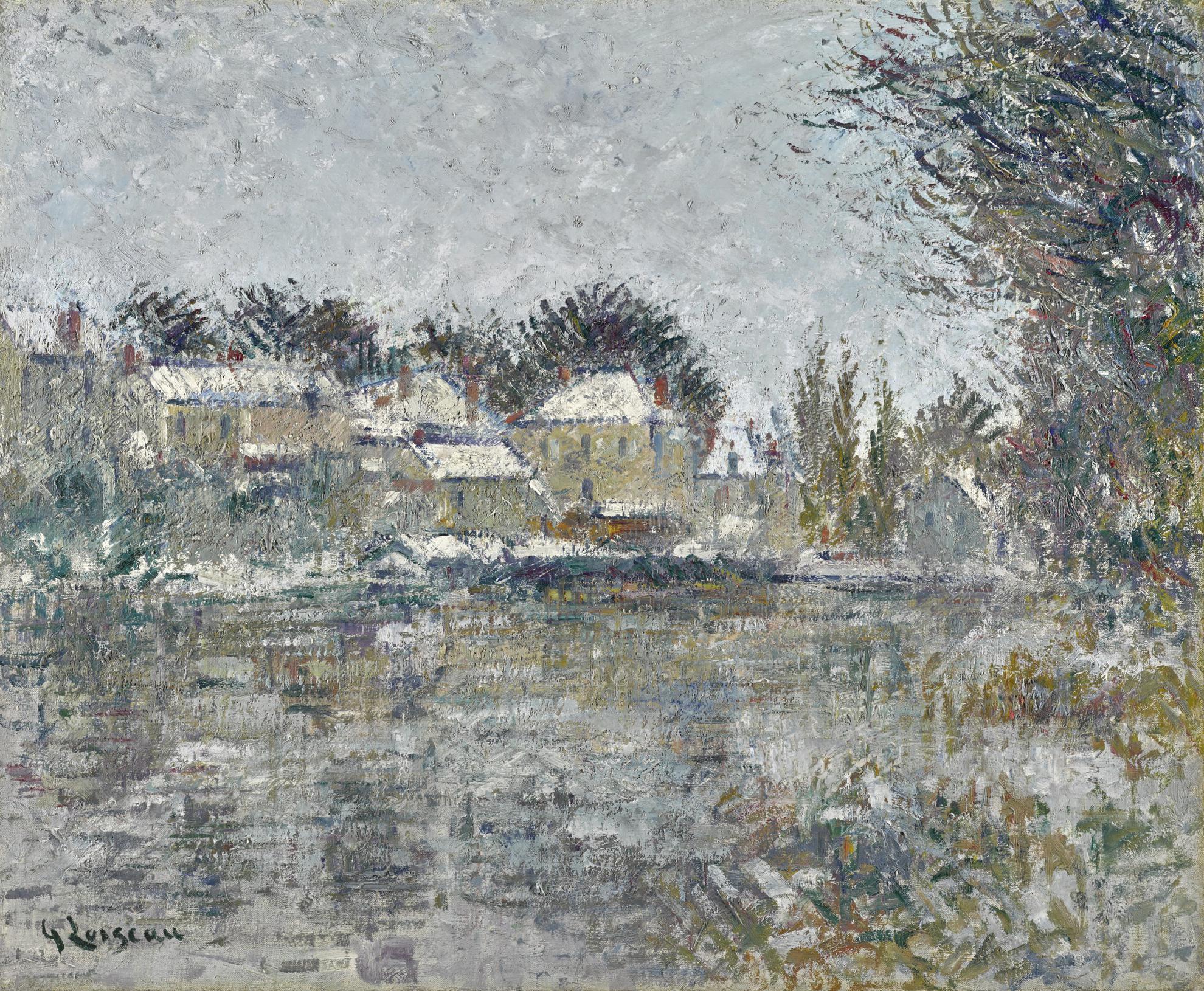 Gustave Loiseau-Effet De Neige-1934