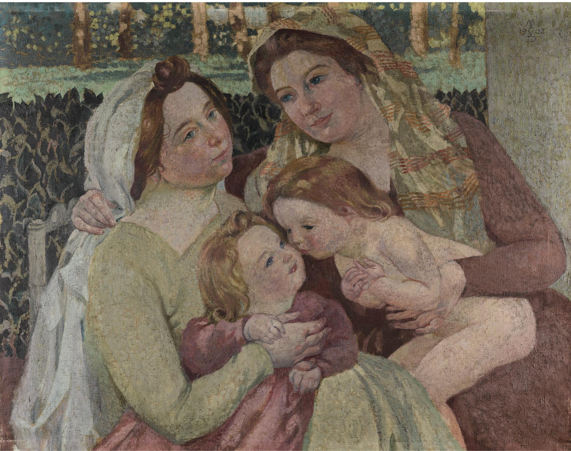 Maurice Denis-Sainte Famille-1902