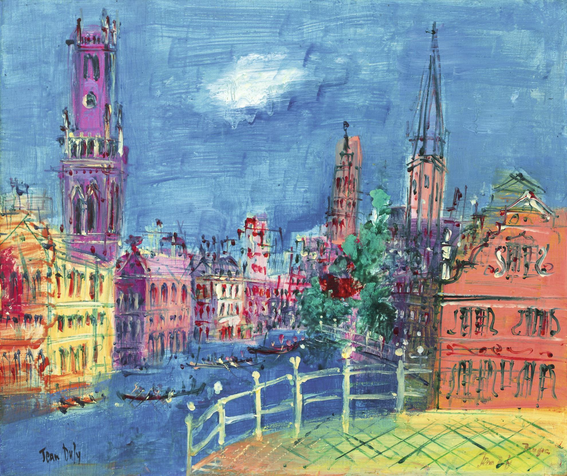 Jean Dufy-Bruges-1950