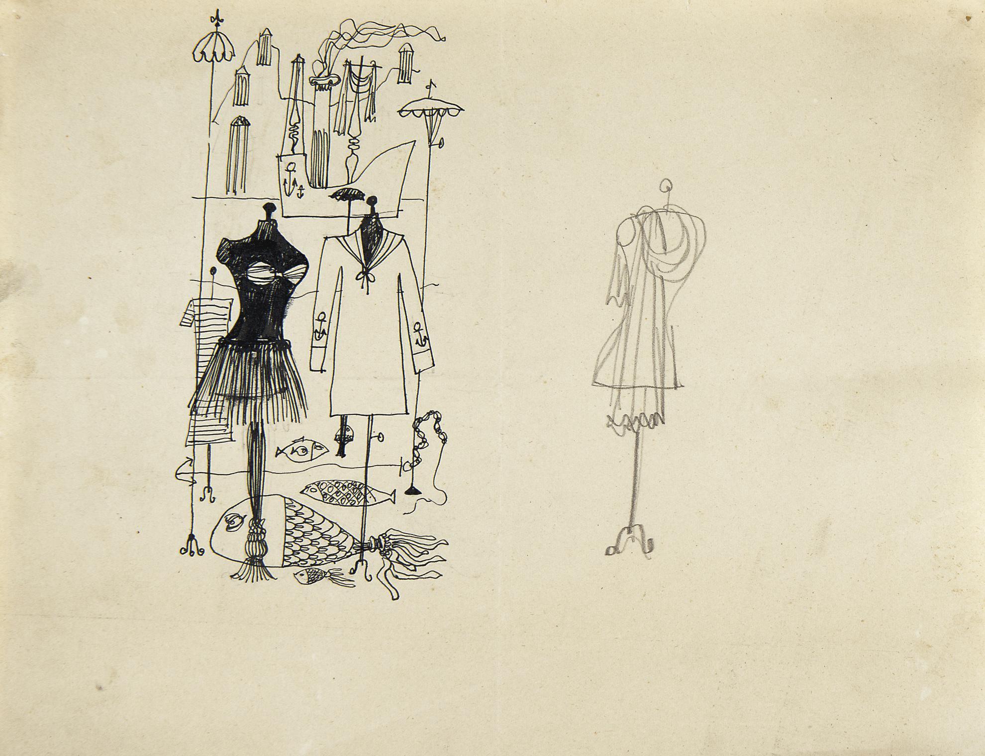 Saul Steinberg-Mannequins-1941