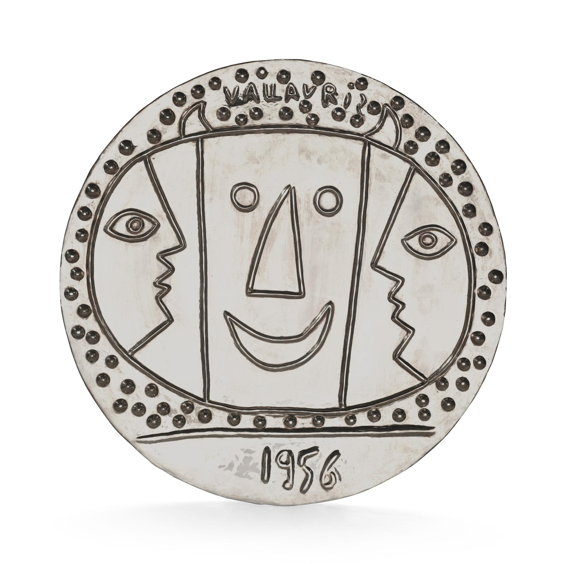 Pablo Picasso-Vallauris-1967