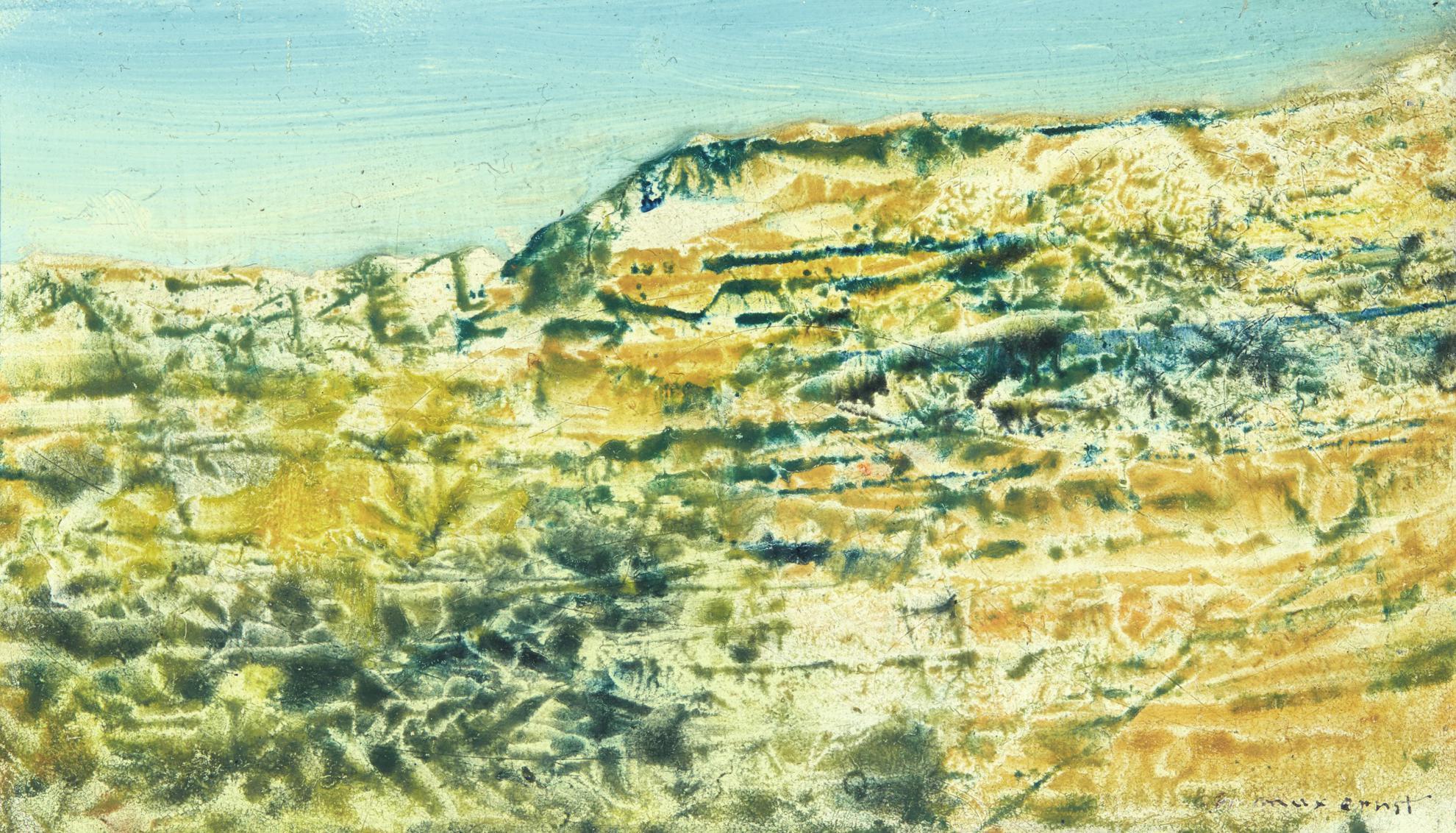 Max Ernst-Arizona-1950