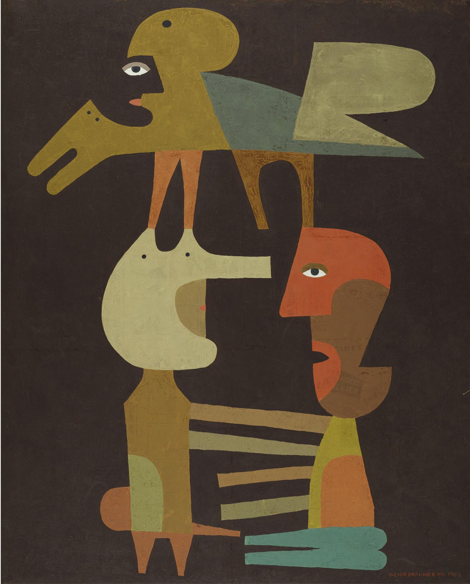 Victor Brauner-Le Lien Secret-1964