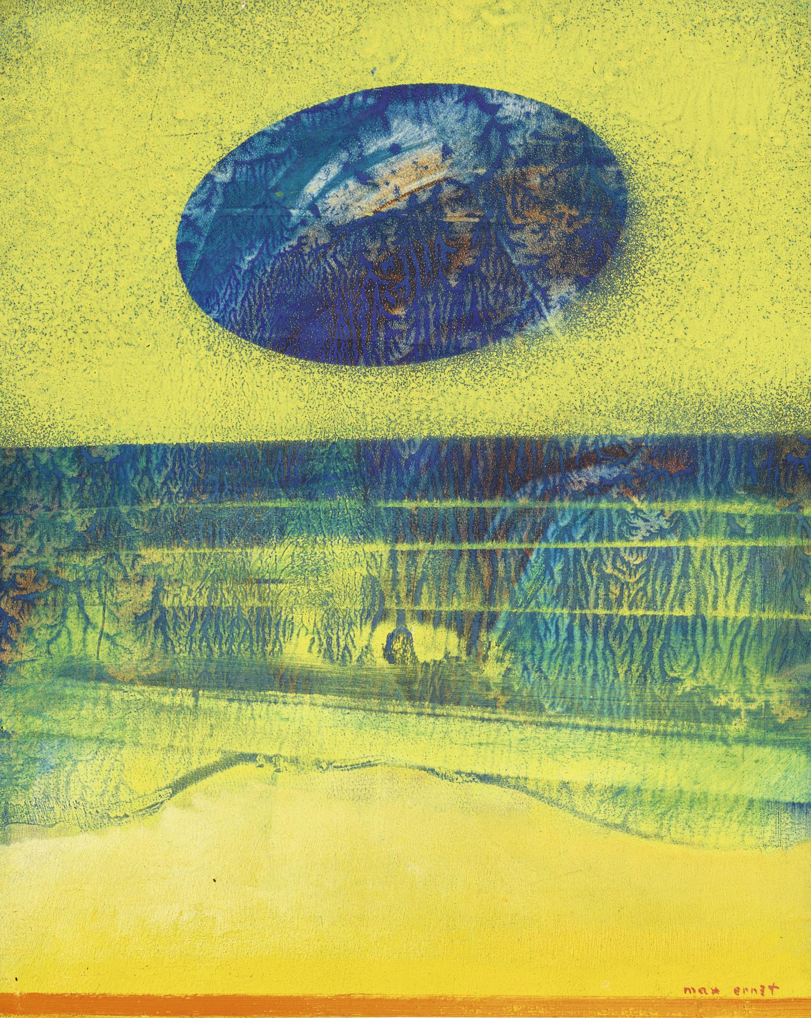 Max Ernst-Soudain I-1962