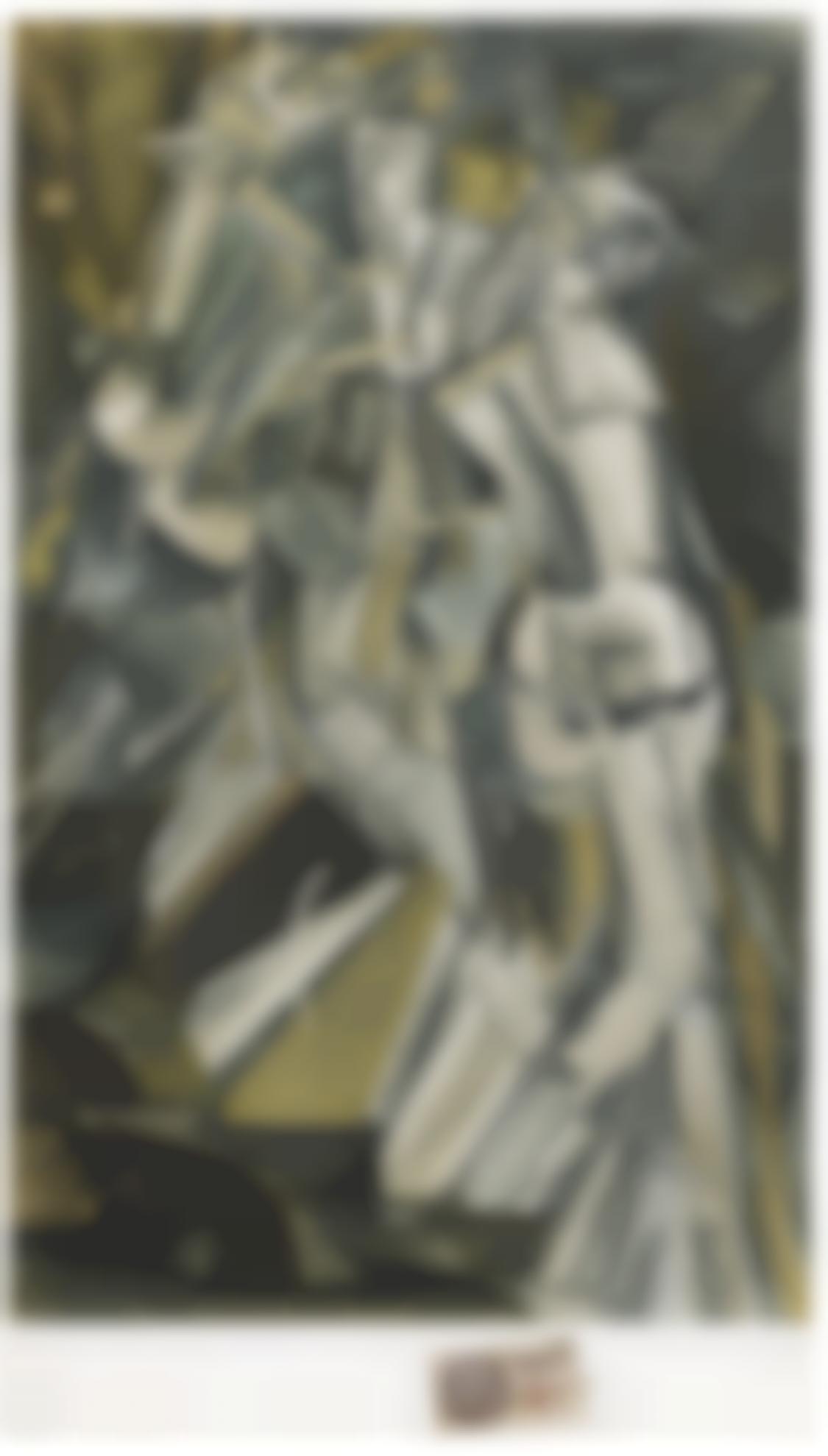 Marcel Duchamp-Nu Descendant Un Escalier No. 2-1937