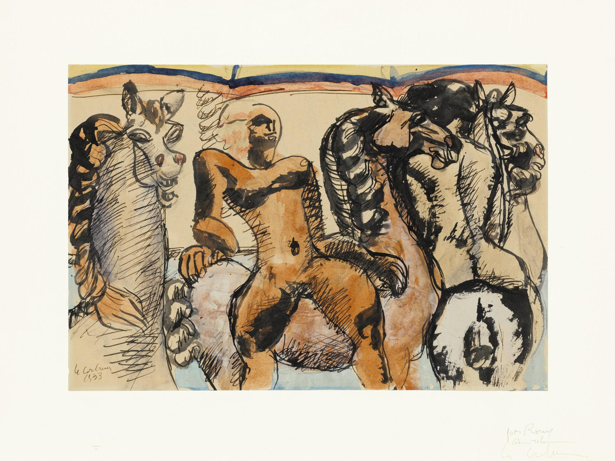 Le Corbusier-Amazones-1933