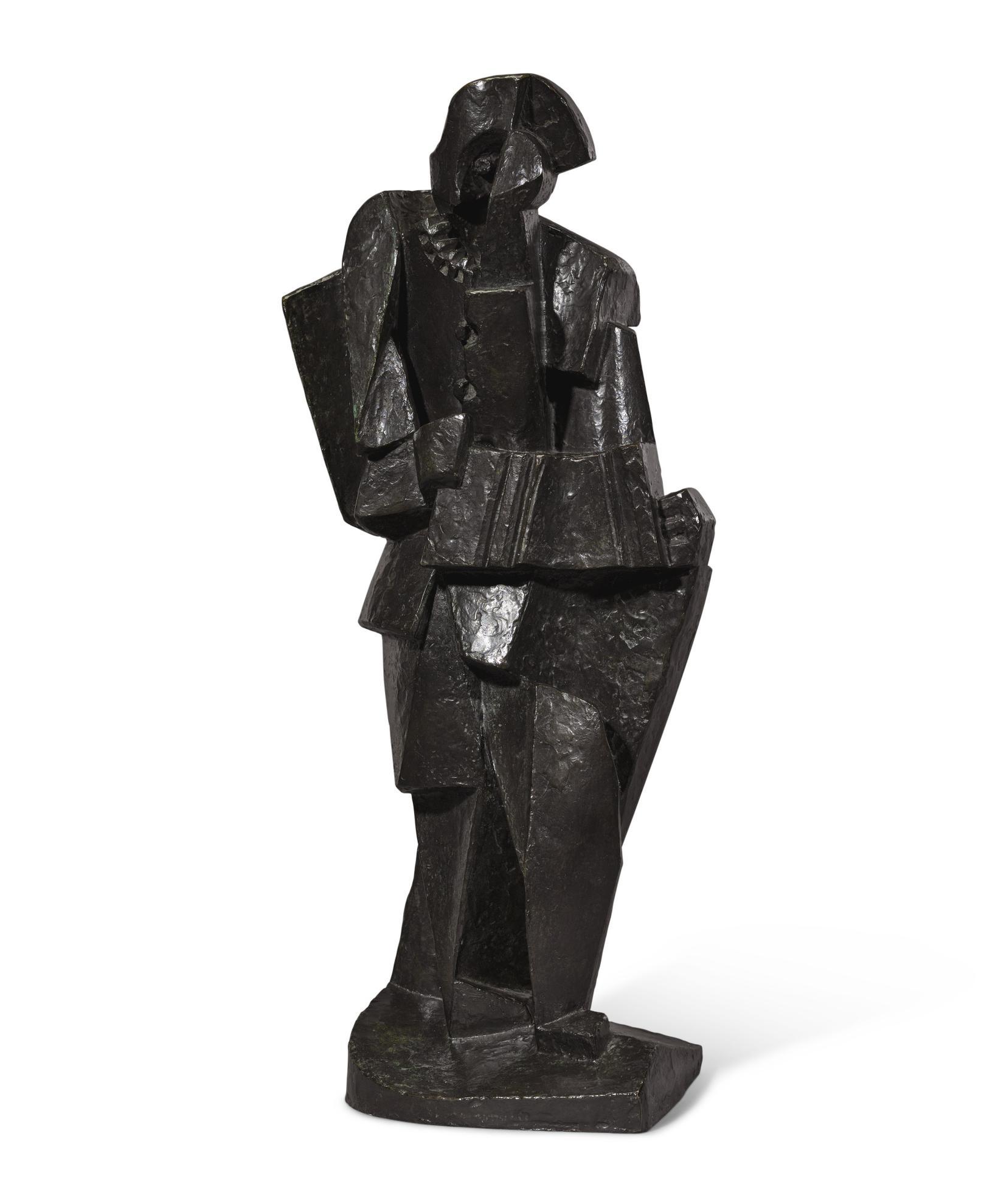 Jacques Lipchitz-Arlequin A Laccordeon-1919