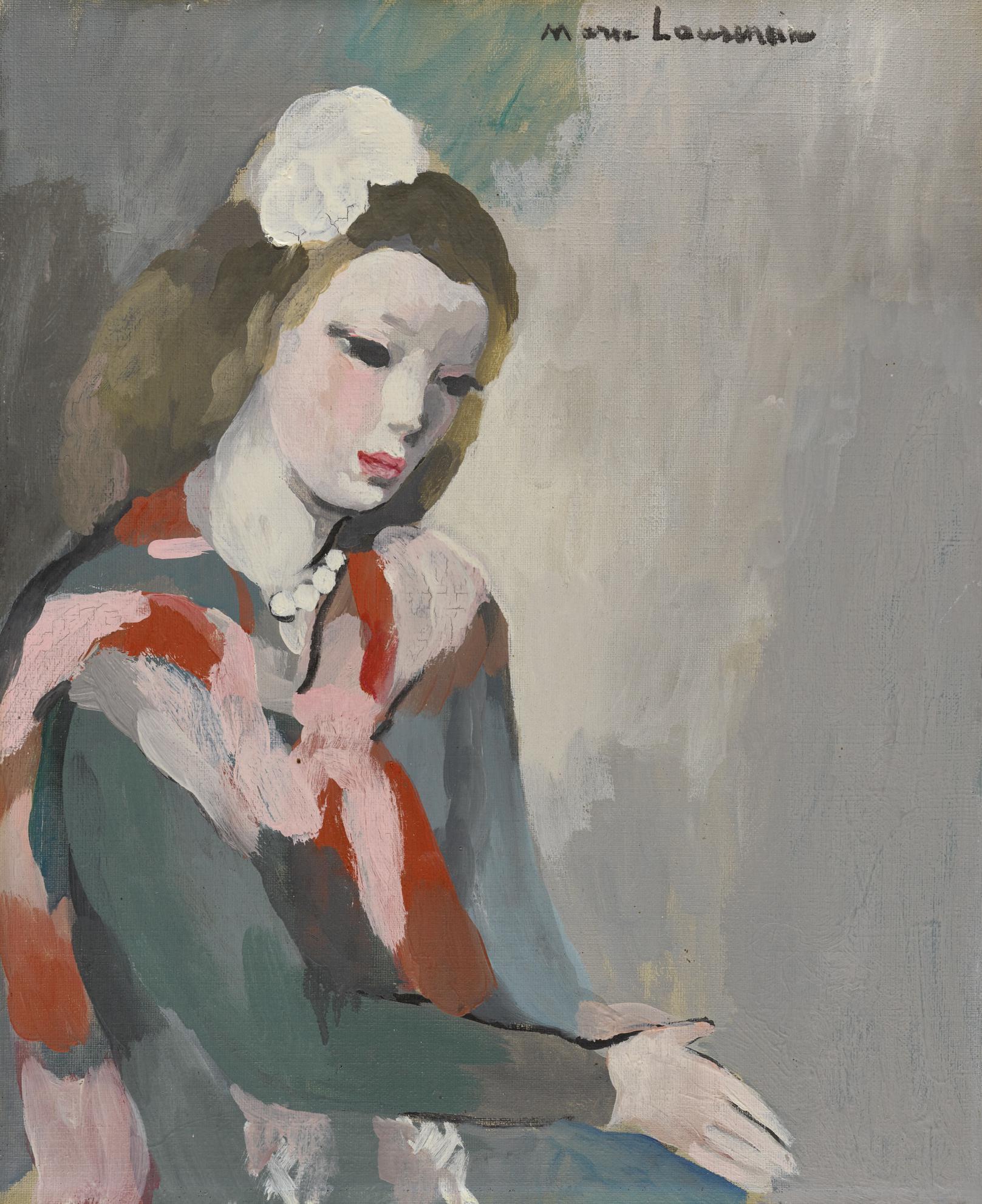 Marie Laurencin-Jeune Femme Aux Perles-