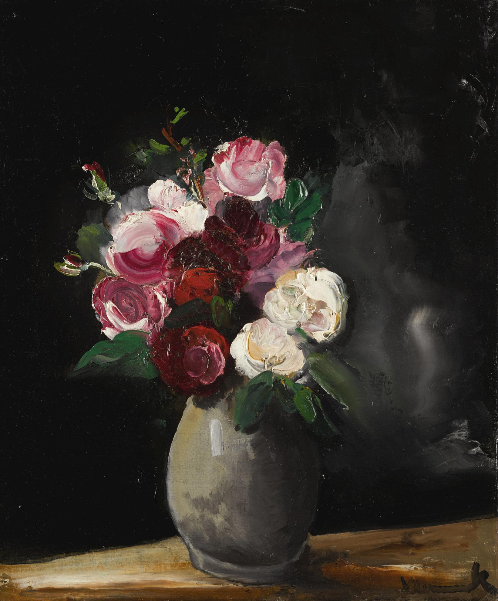Maurice de Vlaminck-Bouquet De Roses-