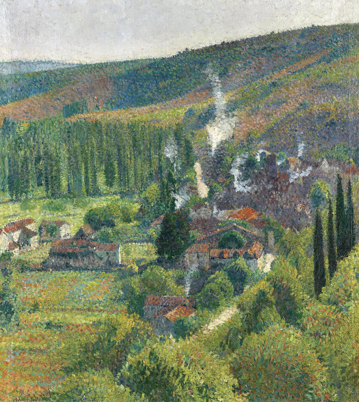 Henri Martin-Paysage A Labastide-Du-Vert-